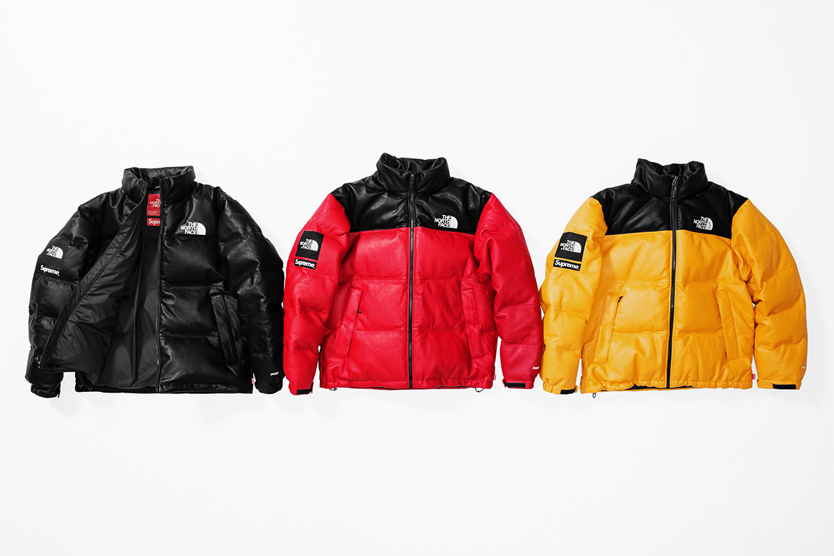 Fall:Winter 2017 Release - Leather Nuptse Jacket