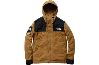 Brown Waxed Mountain Jacket