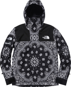 Black Bandana Mountain Parka