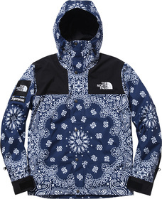 Blue Bandana Mountain Parka