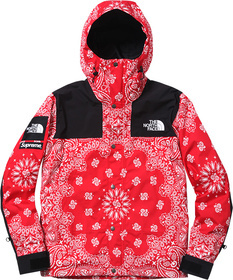 Red Bandana Mountain Parka