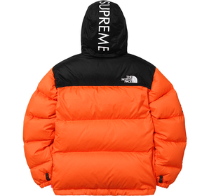 Orange Nupste Jacket Back