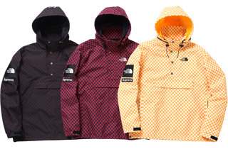 Supreme Checkered Windbreaker Pullovers