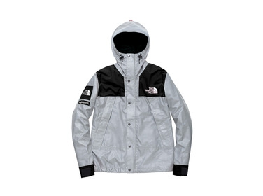 Black 3m Reflective Mountain Parka