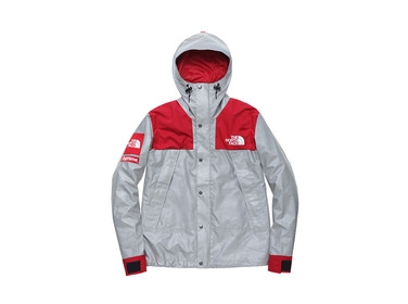Red 3m Reflective Mountain Parka