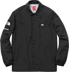 Black Packable Coaches Jacket
