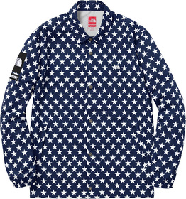 Blue Stars Packable Coaches Jacket