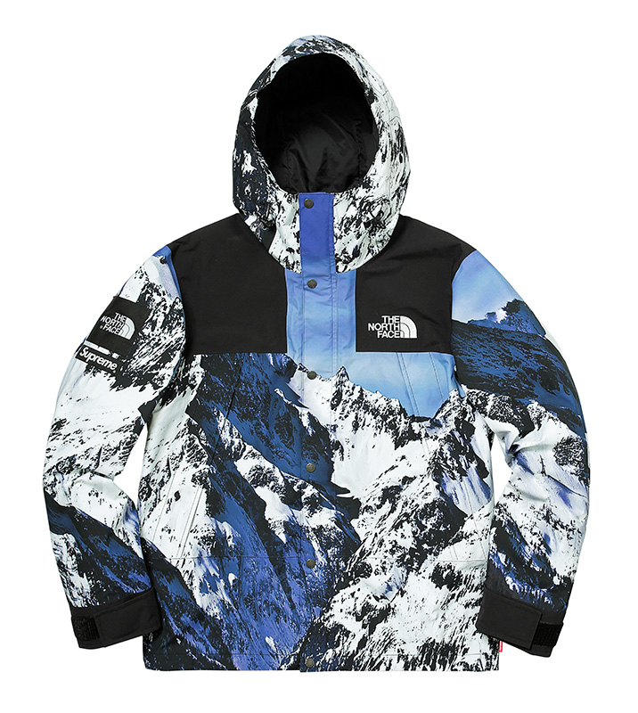 Supreme North Face Jacket Fall:Winter 2017 Release - Mountain Parka