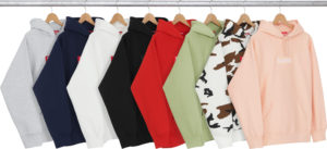 Supreme box logo hoodies 2016