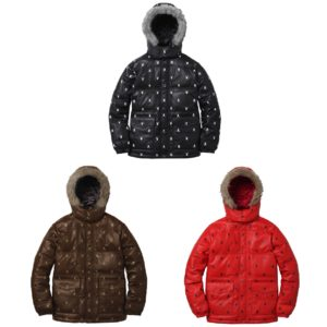 Supreme Playboy Leather Puffy Jacket F/W15 2015
