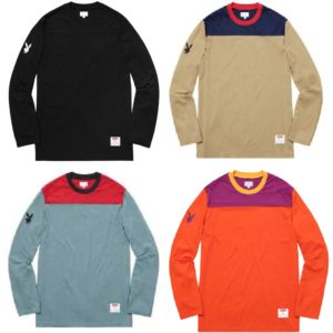 Supreme Playboy L/S Football Top 2016