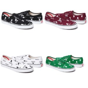 Supreme Playboy Vans Authentic Colorways 2014