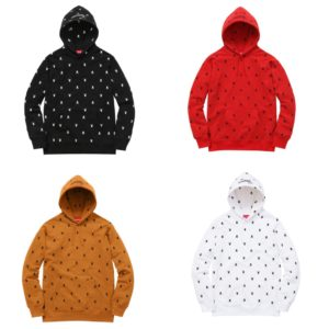 Supreme Playboy Hooded Sweatshirt F/W15 2015