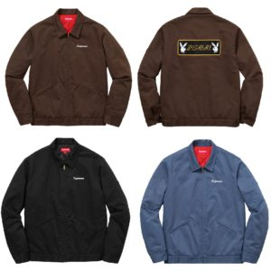 Supreme Playboy Work Jacket 2016