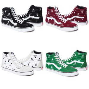 Supreme Playboy Vans Color Ways 2014