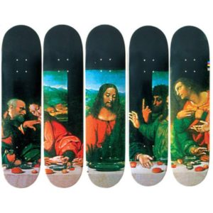 2002 - Supreme Last Supper Supreme Skateboard Deck