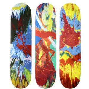2009 - Supreme Damien Hirst Supreme Skateboard Deck