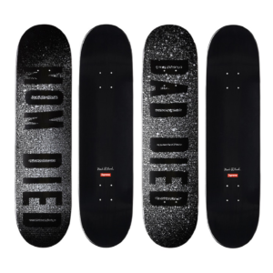 2014 - Supreme Mark Flood Supreme Skateboard Deck