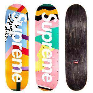 2016 - Supreme Mendini Supreme Skateboard Deck