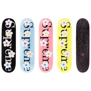 2016 - Supreme Flowers Supreme Skateboard Deck