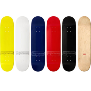 2011 - Supreme Kaws Box Logo Supreme Skateboard Deck