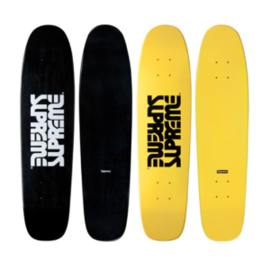 2010 - Supreme Surfstyle Small Cruiser Supreme Skateboard Deck