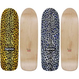 2009 - Supreme Leopard Cruiser Supreme Skateboard Deck
