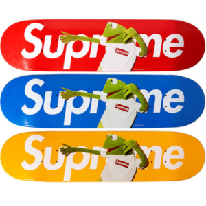 2008 - Supreme Kermit The Frog Supreme Skateboard Deck