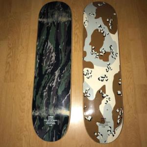 1998 - Supreme Tiger Camo/Desert Camo Supreme Skateboard Deck