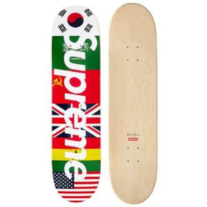 2013 - Supreme Flags Supreme Skateboard Deck