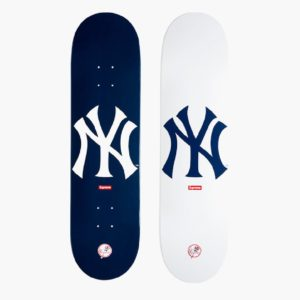 2015 - Supreme New York Yankees Supreme Skateboard Deck