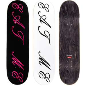 2015 - Supreme Eat Me Supreme Skateboard Deck