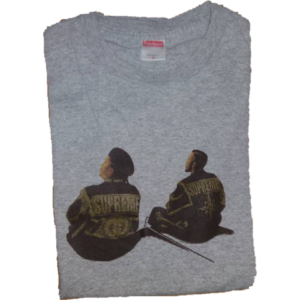 1998 Supreme Eric B and Rakim tee Supreme Tag