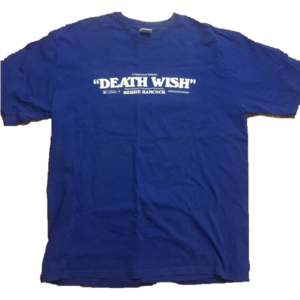 2001 Supreme Deathwish Movie Tee Supreme tag