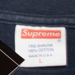 2011 Supreme Tag