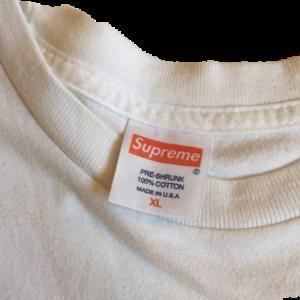 2012 Supreme Tag