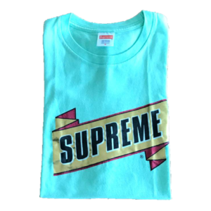 2013 Supreme Emblem Tee Supreme Tag