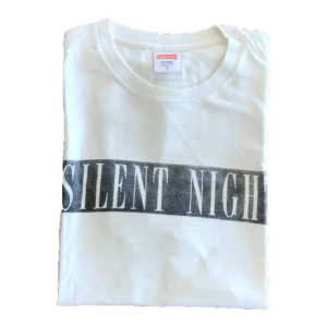 2014 Supreme Silent Night (Christmas) Tee Supreme Tag