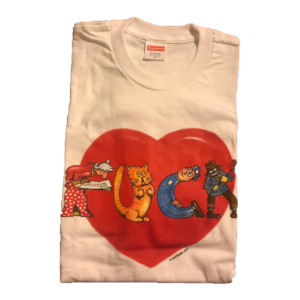 2017 Supreme Fuck Love Tee Supreme Tag