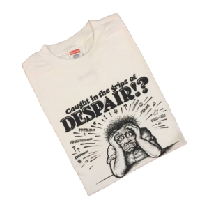 2007 Supreme x R. Crumb Despair Tee Supreme Tag