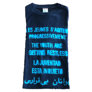 2005 Supreme Youth Are Getting Restless Tee Supreme Tag