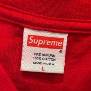 2002 Supreme Tag
