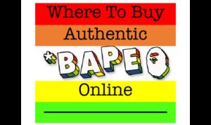Where to Buy Bape Online