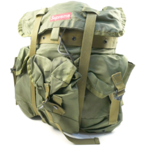 1995 Supreme Backpack Military Green