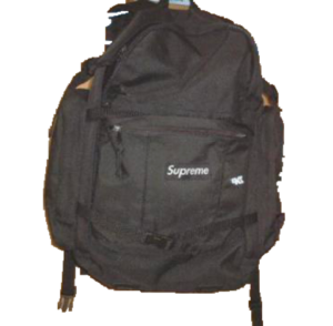 S/S 1996 Supreme Backpack Black