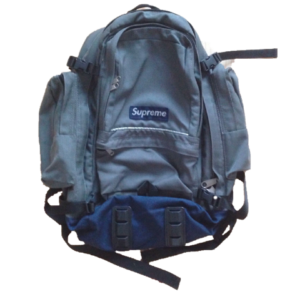 S/S 1997 Supreme Backpack Blue