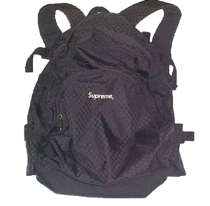S/S 1998 Supreme Backpack Black