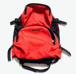 S/S 1998 Supreme Backpack Red