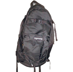 F/W 2000 Supreme Backpack Black
