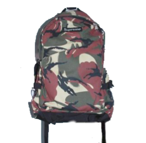 S/S 2002 Supreme Backpack Red Camo
